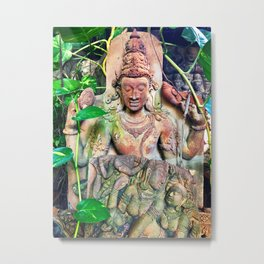 Clay Tablets in the Tropics Metal Print