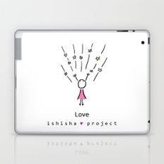 LOVE by ISHISHA PROJECT Laptop & iPad Skin