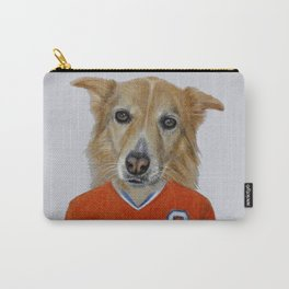 dog in sportwear Carry-All Pouch