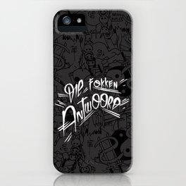 Zef wallpaper iPhone Case