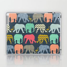 baby elephants and flamingos Laptop & iPad Skin