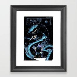 Inner silence Framed Art Print