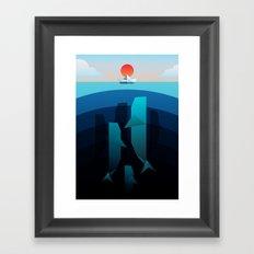 Oblivious Framed Art Print