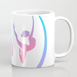 Rhythm of a Gymnast's Heart Coffee Mug