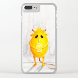 brownie Clear iPhone Case