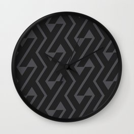 Chromosome Petrol Grey ed. Wall Clock