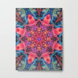 Island Mandala Metal Print