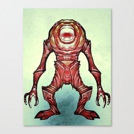 Alien_Oh Canvas Print