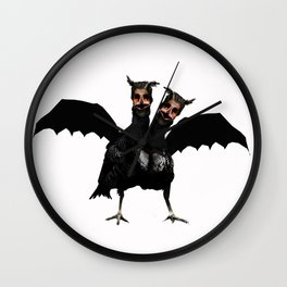The Vulture Witch Wall Clock