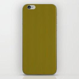 Yellow and Black Honey Bee Vertical Pin Stripe iPhone Skin
