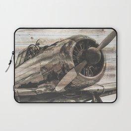 Old airplane 1 Laptop Sleeve