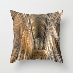 Southwark  Cathedral London Throw Pillow