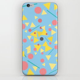 Chaos around you iPhone Skin
