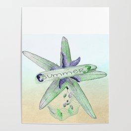 Sealife Starfish Poster