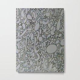 Gray Today Metal Print
