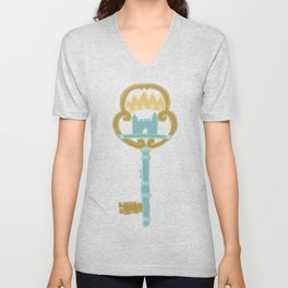 Castle in the Air Unisex V-Neck
