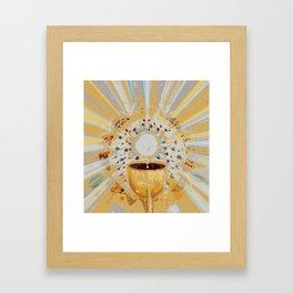 Eucharist Framed Art Print