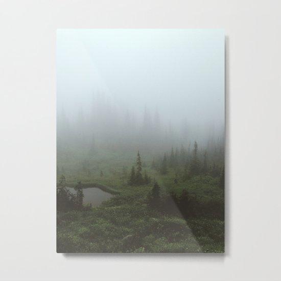 Fogland Metal Print