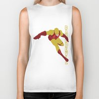 daredevil Biker Tanks featuring Daredevil by Young Jake