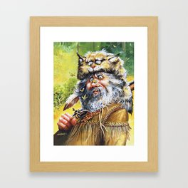 Bugged Mountain Man Framed Art Print