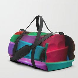 Plastic Coloured Cups Duffle Bag