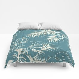 Tropical pattern 038 Comforters