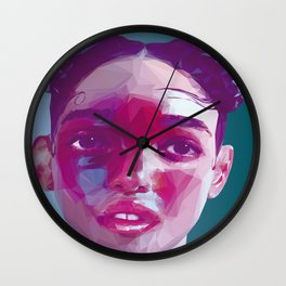 FKA Twigs Low Poly Collection Wall Clock