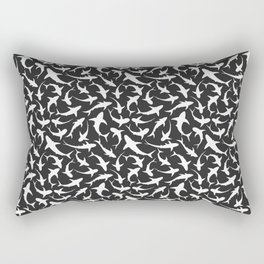 Sharks (inverted) Rectangular Pillow