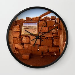 Cliff_Dwellers Stone_House - II Wall Clock