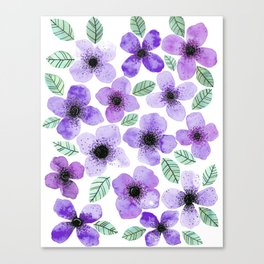 Lilly Lila Canvas Print