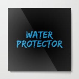 Water Protector Metal Print