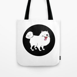 Samoyed dog doggie Puppy gift present Tote Bag