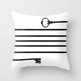 (Very) Long Key Throw Pillow