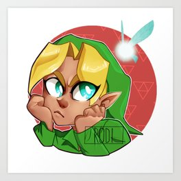 Ocarina Of Time Art Prints | Society6