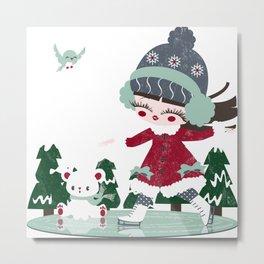 4 seasons - winter Metal Print
