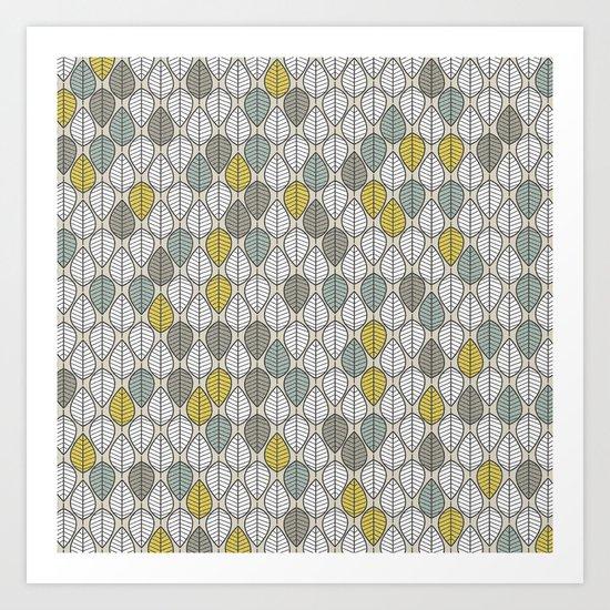leavesfall II Art Print