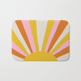 sunshine state of mind Bath Mat