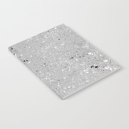 Gray Shine Texture Notebook