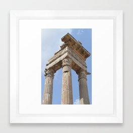 Pillars of Rome Framed Art Print