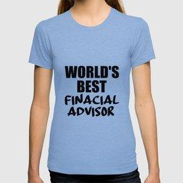 financial adviser T-shirt