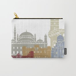 Alexandria skyline poster Carry-All Pouch