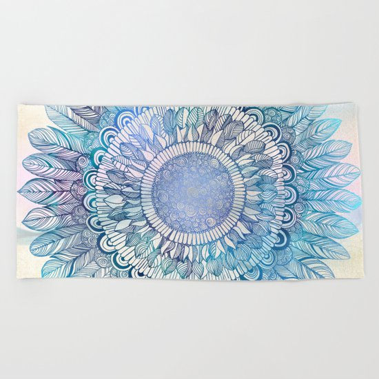 It's a glorious day, Buttercup Beach Towel