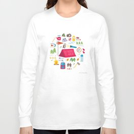 Outdoors is great Long Sleeve T-shirt