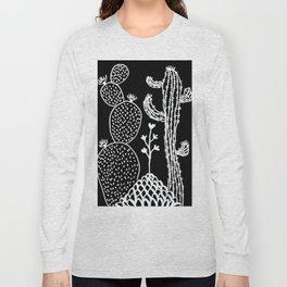 Cactus 30 black Long Sleeve T-shirt