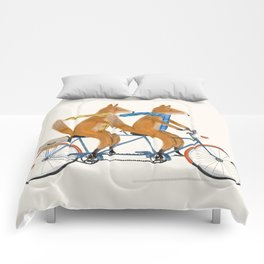 foxes lets tandem Comforters