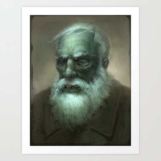 Old Dead Guy Art Print