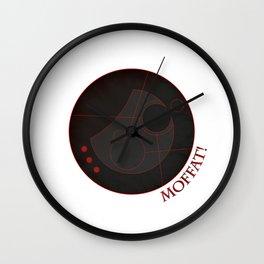 MOFFAT! - Doctor Who Wall Clock
