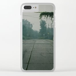 Dead End Clear iPhone Case