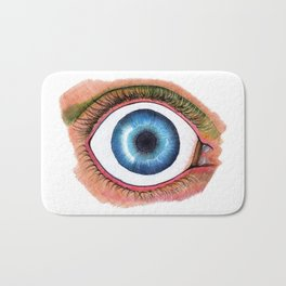 Blue Eye Bath Mat