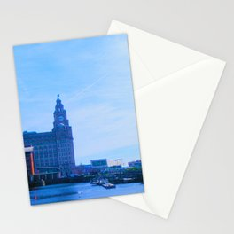 Liver Building from Princes Dock Stationery Cards